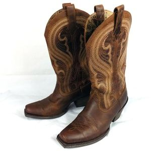 Ariat Lively Western Cowboy Boots Womens 7.5